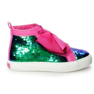 46a840015d4 jojo Siwa Shoes - Jojo Siwa Mermaid Girls High tops